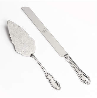Cathy's Concepts Cathys Concepts Monogram Vintage Cake Server Set