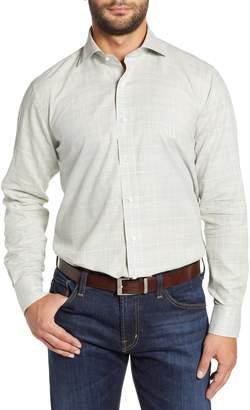Peter Millar COLLECTION Melange Glen Plaid Sport Shirt