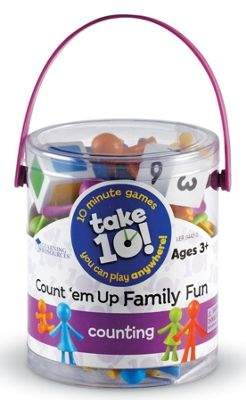 Learning Resources Take 10! Countem Up Family Fun Game