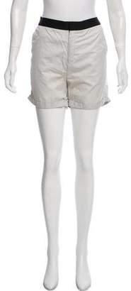 Helmut Lang High-Rise Mini Shorts