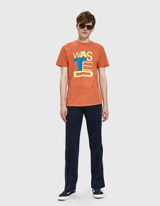 Obey Wasted Youth Tee in Paprika