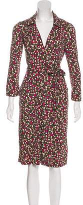 Diane von Furstenberg Silk Knee-Length Dress
