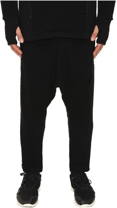 adidas Y-3 by Yohji Yamamoto - Double Jersey Pants Men's Casual Pants $455 thestylecure.com