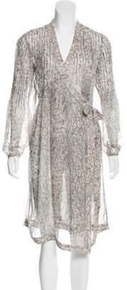 DAY Birger et Mikkelsen Silk Printed Dress