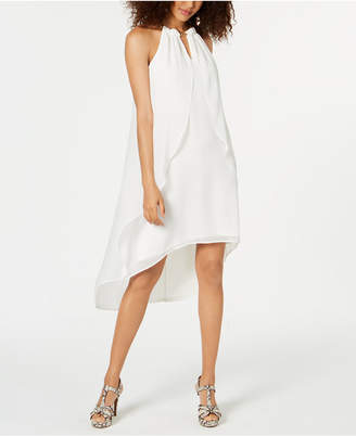Thalia Sodi High-Low Chiffon Cascade Dress