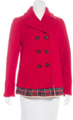 Marc by Marc Jacobs Wool Double-Breasted Coat
