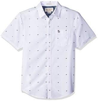 Original Penguin Men's Nautical Theme Oxford Shirt