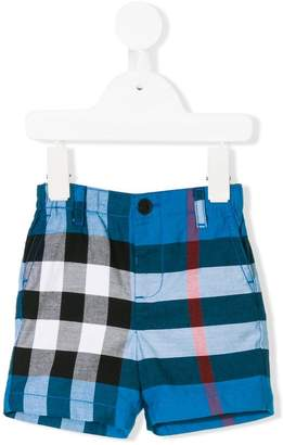 Burberry checked shorts