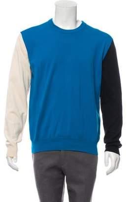 Calvin Klein Colorblock Crew Neck Sweater