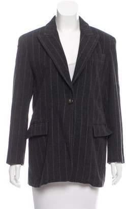 Max Mara Striped Wool Blazer
