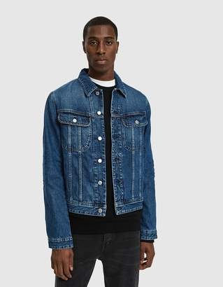 Acne Studios Tent Jacket in Mid Blue