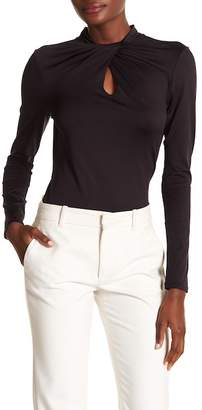 Ted Baker Twist Neck Long Sleeve Top