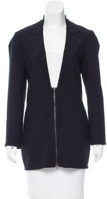 Lanvin Fitted Notch-Lapel Blazer