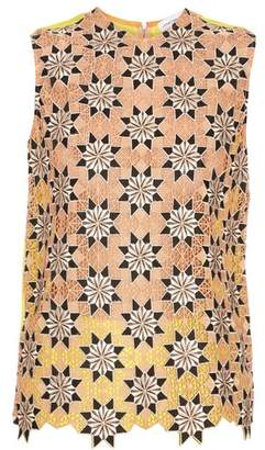 Jonathan Saunders Jessica guipire-lace sleeveless top
