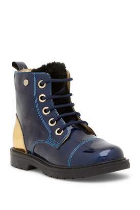 Naturino Specchio Faux Fur Detail Boot (Toddler, Little Kid, & Big Kid)