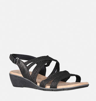Avenue Fran Braided Slingback Wedge Sandal