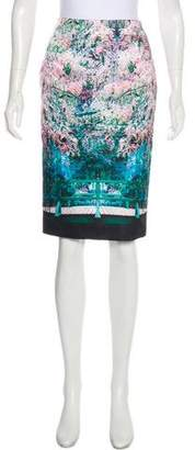 Mary Katrantzou Printed Knee-Length Skirt