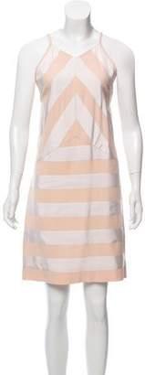 Kenzo Sleeveless Striped Front Dress