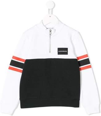 Calvin Klein (カルバン クライン) - Calvin Klein Kids カラーブロック スウェットシャツ