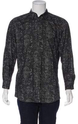 Dolce & Gabbana Patterned Corduroy Shirt