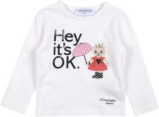 Simonetta Mini T-shirts - Item 37953710RD