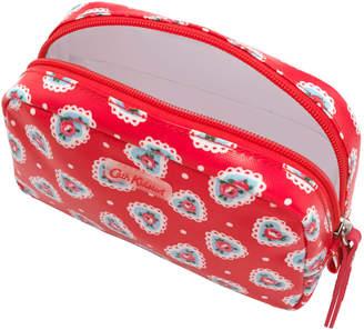 Cath Kidston Lace Hearts Classic Box Make-Up Case