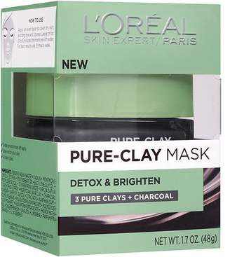 L'Oreal Paris Pure-Clay Mask, Detox & Brighten