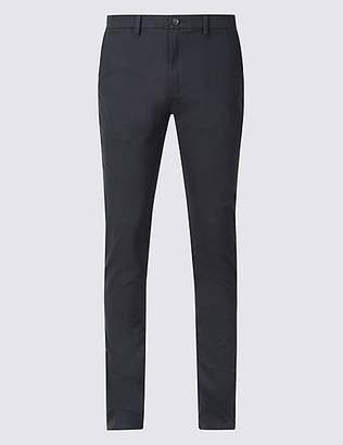 M&S Collection Skinny Fit Cotton Rich Chinos