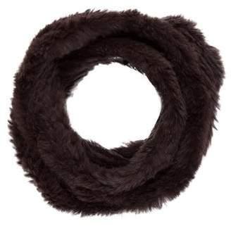 Adrienne Landau Knit Fur Infinity Scarf