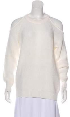 IRO Oversize Rib Knit Cut-Out Sweater