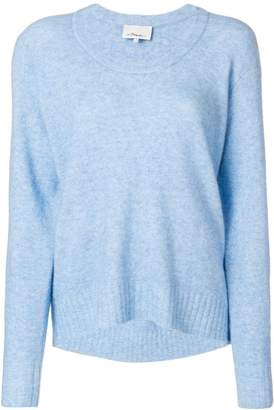 3.1 Phillip Lim scoop neck knitted sweater