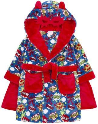 4Kidz Boys Super Hero Novelty Dressing Gown