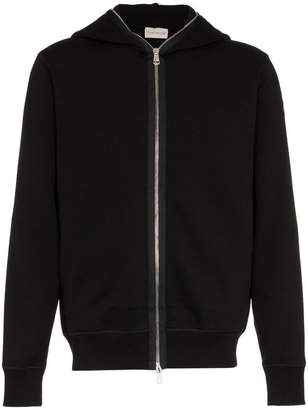 Moncler Zip Hooded Sweater