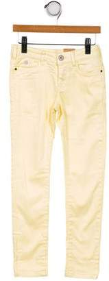 Scotch & Soda Girls' Skinny Mid-Rise Jeans