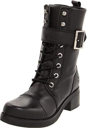 """Harley-Davidson Women's Jammie Strap And Buckle 10"""" Mid Cut Boot"""