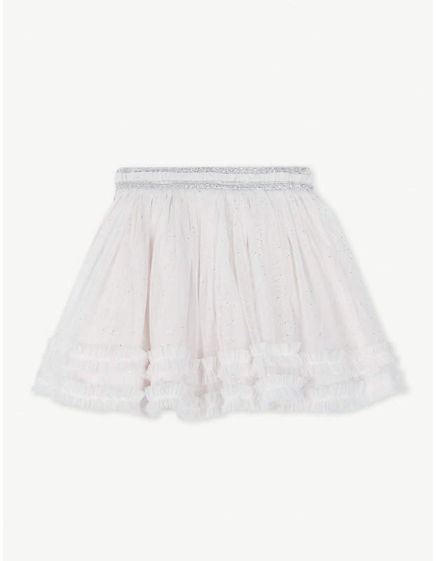 The Little White Company Metallic tutu skirt 0-24 months