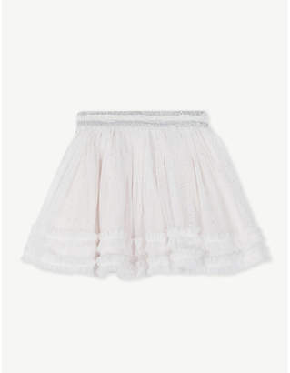 The Little White Company Metallic tutu skirt 0-24 months