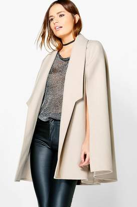 boohoo Vanessa Wool Look Cape