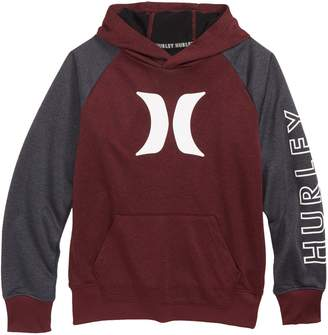 Hurley Dri-FIT Solar Icon Logo Pullover Hoodie
