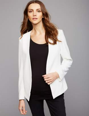 Matty M Open Front Maternity Jacket