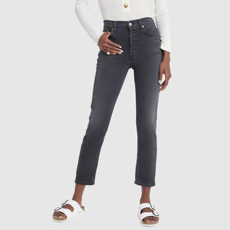 RE/DONE High-Rise Ankle Crop