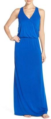 Women's Hard Tail Blouson Maxi Dress $115 thestylecure.com