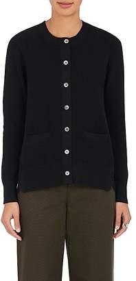 Sacai Women's Lace-Back Cotton Voluminous Cardigan $885 thestylecure.com