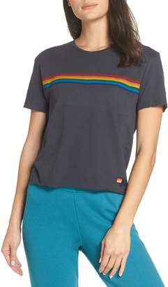 Aviator Nation Rainbow Tee