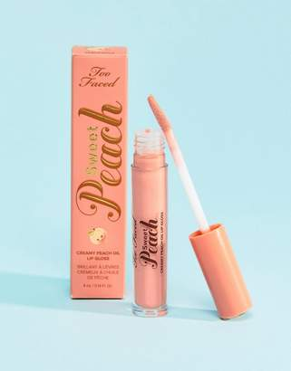 Too Faced Cosmetics Peach Lip Gloss - Peach-Sicle