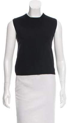 Calvin Klein Collection Sleeveless Cashmere Top