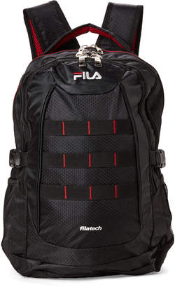 Fila Black & Red Colossus Laptop Backpack