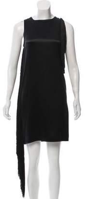 Helmut Lang Silk Fringe Dress