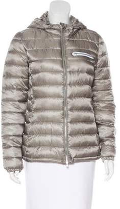 Closed Hooded Puffer Jacket w/ Tags