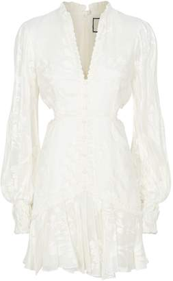 Alexis Embroidered Sarabeth Dress